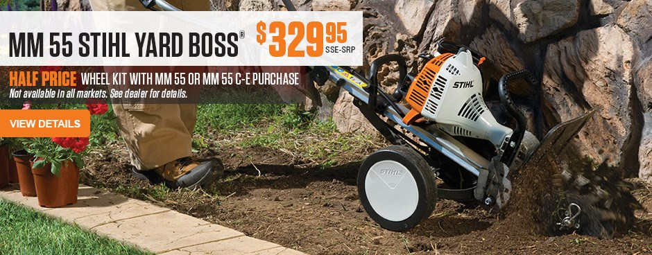 MM 55 STIHL YARD BOSS